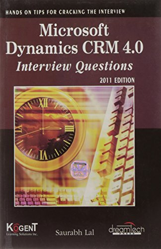 Microsoft Dynamics CRM 4.0 Interview Questions: Saurabh Lal
