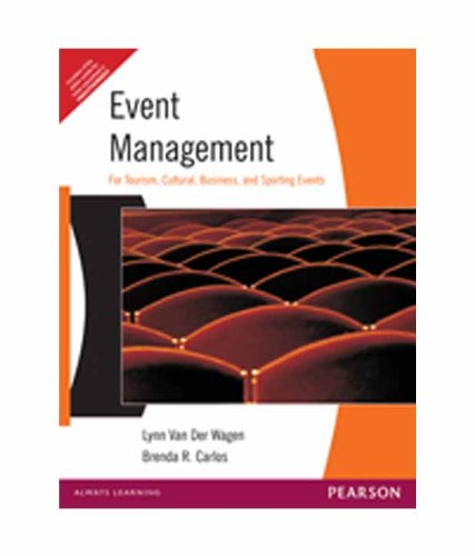 Event Management: Brenda R. Carlos,Lynn