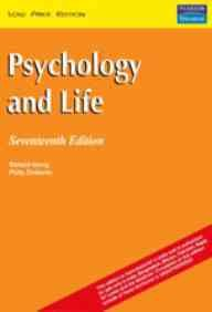 9788177581140: Psychology and Life, 17/e