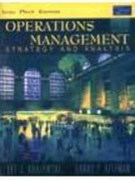 9788177581195: Operations Management