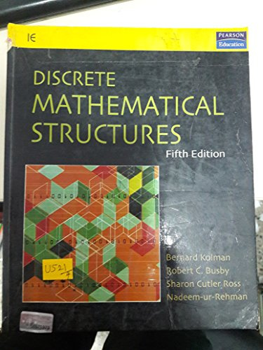 Discrete Mathematical Structures (International Edition): Bernard Kolman, Robert