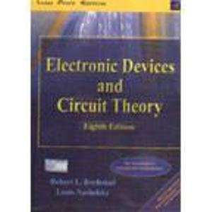 9788177581584: Electronic Devices And Circuit Theory