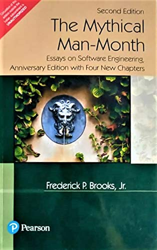 9788177581621: The Mythical Man Month: Essays on Software Engineering