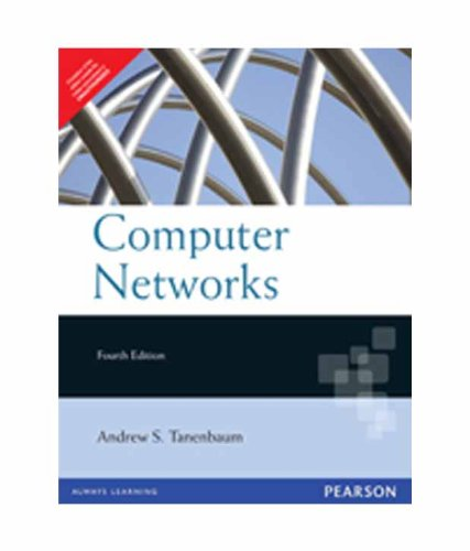 Computer Networks 9788177581652 Computer Networks, Fourth Edition is the ideal introduction to computer networks. Renowned author, educator, and researcher Andrew S. Tanenbaum has updated his classic best seller to reflect the newest technologies, including 802.11, broadband wireless, ADSL, Bluetooth, gigabit Ethernet, the Web, the wireless Web, streaming audio, IPsec, AES, quantum cryptography, and more. Using real-world examples, Tanenbaum explains how networks work on the inside, from underlying physical layer hardware up through today's most popular network applications.