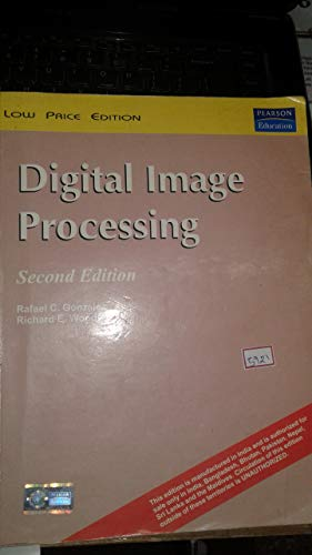 9788177581683: Digital Image Processing (International Edition) Edition: Second