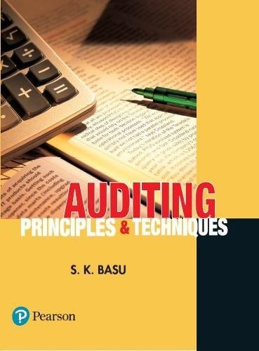 Auditing: Principles and Techniques: Sanjib Kumar Basu