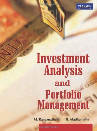 Investment Analysis And Portfolio Management By M RanganathamR