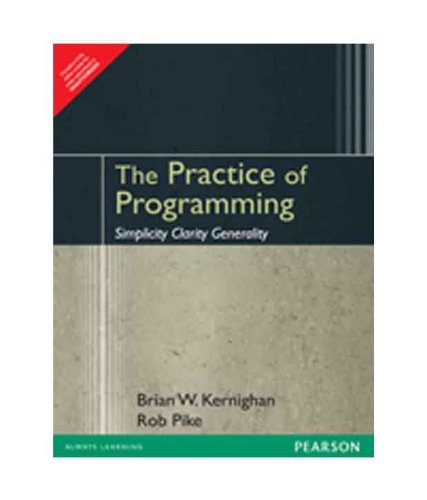 9788177582482: The Practice of Programming