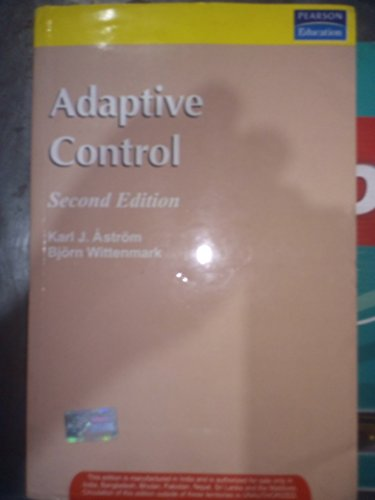 9788177582772: Adaptive Control, 2/e