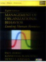 9788177583205: Management of Organisational Behavior: Leading Human Resources, 8/e