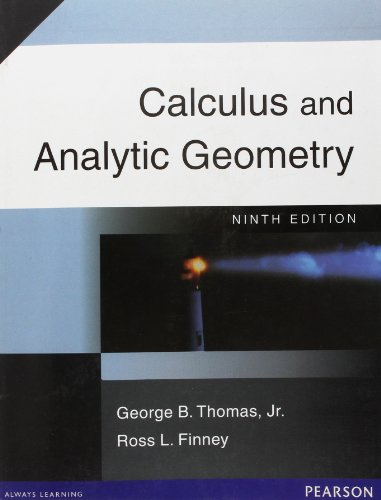 9788177583250: Calculus & Analytic Geometry