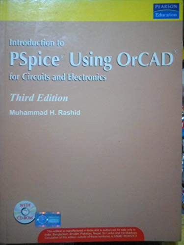 9788177583526: Introduction to PSpice Using OrCAD for Circuits and Electronics, 3/e (with CD)