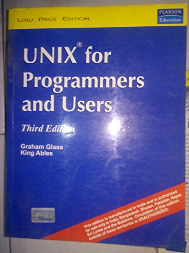 9788177583595: UNIX for Programmers and Users, 3/e