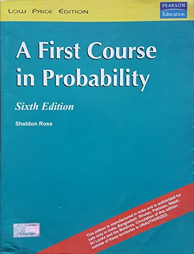 9788177583618: First CourseiIn Probability