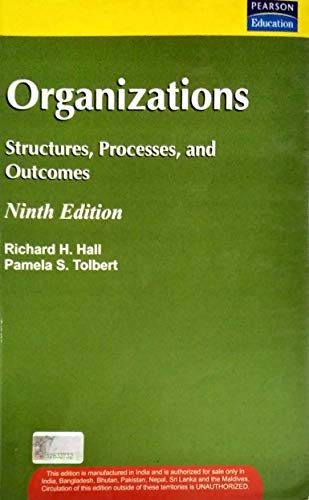 9788177583878: Organizations: Structures, Processes, and Outcomes