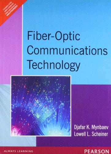 fiber optic communications technology djafar k mynbaev