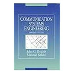 9788177584288: Communication Systems Engineering (Livre en allemand)