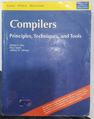 9788177584455: Compilers: Principles, Techniques, And Tools (Reprint)