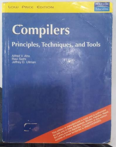 9788177584455: Compilers - Principles, Techniques and Tools (Livre en allemand)
