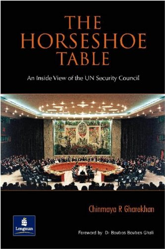 9788177584530: Horseshoe Table: An Inside View of the UN Security Council, The