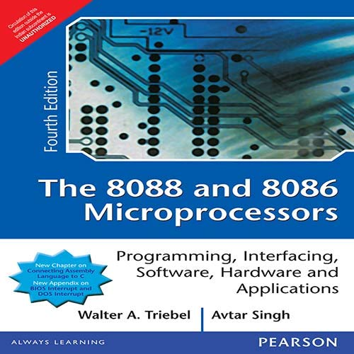 8088 And 8086 Microprocessor (Adap): Triebel