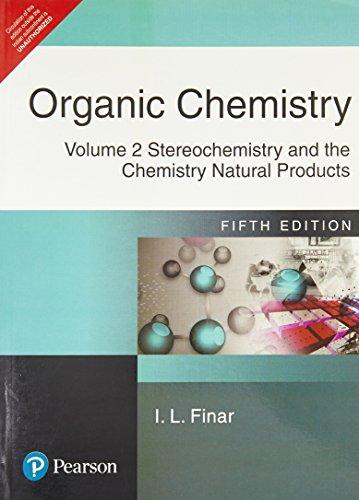 I L FINAR ORGANIC CHEMISTRY PDF