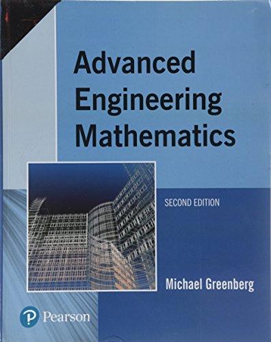 Advanced Engineering Mathematics (Second Edition): Michael Greenberg
