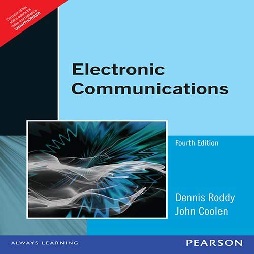Electronic Communications, 4Th Edn: Roddy,D., Coolen,J.