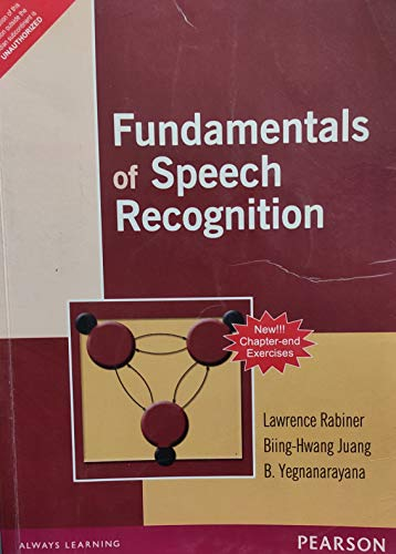 9788177585605: Fundamentals Of Speech Recognition