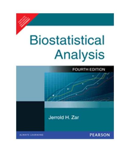 9788177585827: Biostatistical Analysis