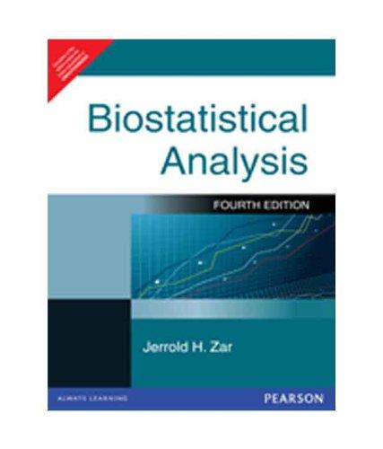 9788177585827: Biostatistical Analysis