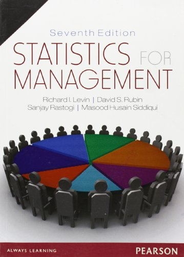 9788177585841: Statistics for Management
