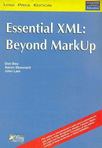9788177586572: Essential XML: Beyond MarkUp