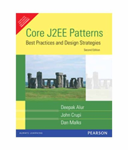 9788177586718: Core J2EE Patterns: Best Practices and Design Strategies (Livre en allemand)