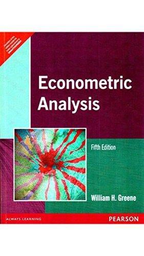 9788177586848: Econometric Analysis, 5/e