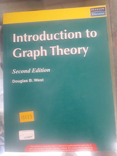 9788177587418: Introduction to Graph Theory, 2/e