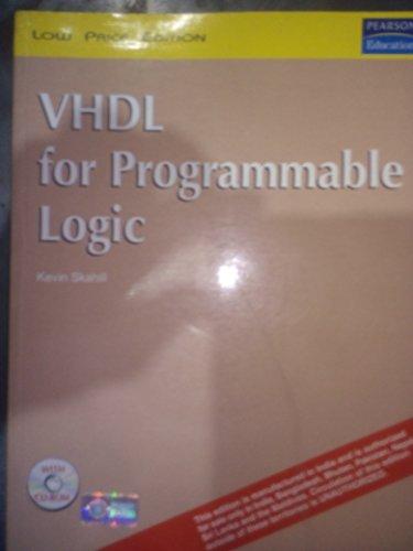 9788177587470: Vhdl for Programmable Logic