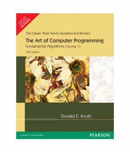 9788177587548: Art of Computer Programming: Fundamental Algorithms v. 1