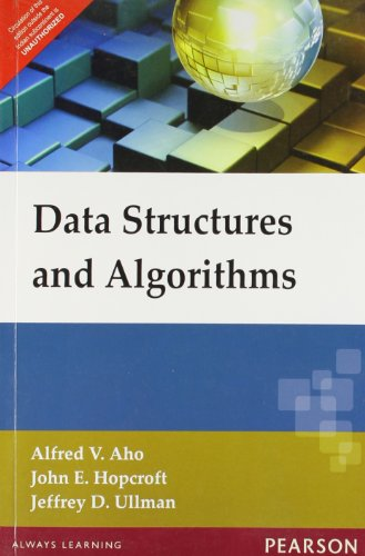Data Structures And Algorithms: Aho Alfred V.