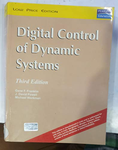 9788177588286: Digital Control of Dynamic Systems (Livre en allemand)