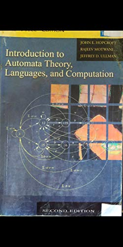 9788177588729: Introduction to Automata Theory, Languages,And Computation (3rd Edition)