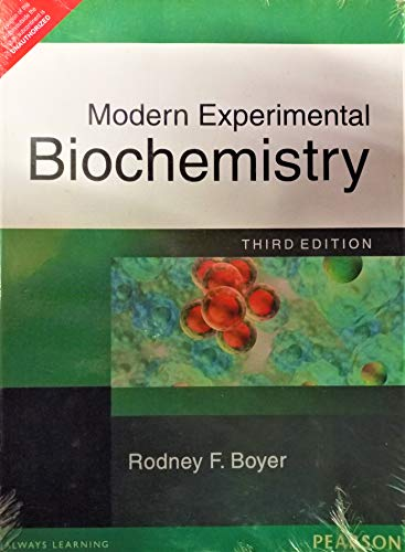 9788177588842: Modern Experimental Biochemistry (3rd Edition)