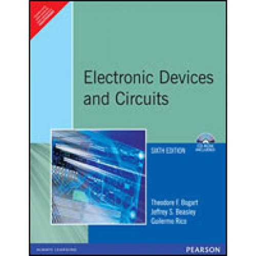 9788177588873: Electronic Devices and Circuits, 6/e (with CD)