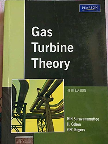 9788177589023: GAS TURBINE THEORY