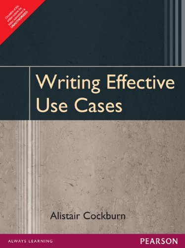9788177589078: Writing Effective Use Cases
