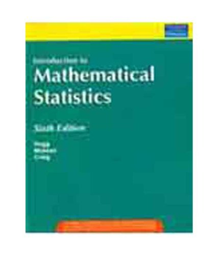 9788177589306: INTRODUCTION TO MATHEMATICAL STATISTICS, 6TH EDITION