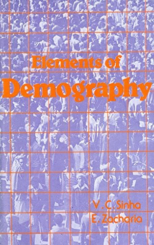 9788177640441: Elements of Demography