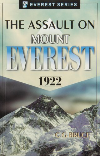 9788177691764: The Assault on Mount Everest 1922