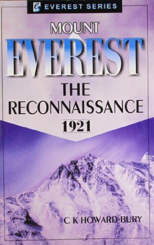 9788177691771: Mount Everest: The Reconnaissance