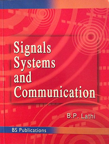 9788178000169: Signals, Systems And Communication